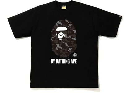 Bape Digital Camo by Bathing Ape Relaxed Tee Black/Black (FW20)の写真