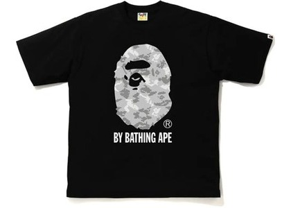 Bape Digital Camo by Bathing Ape Relaxed Tee Black/Gray (FW20)の写真