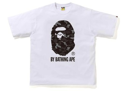 Bape Digital Camo by Bathing Ape Relaxed Tee White/Black (FW20)の写真