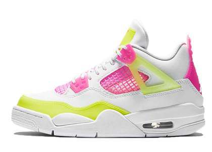 Nike Air Jordan 4 Lemon Venom GSの写真