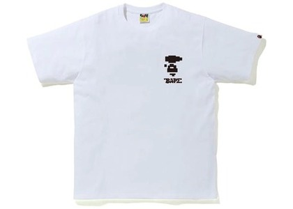 Bape Digital Camo Tee White/Black (FW20)の写真