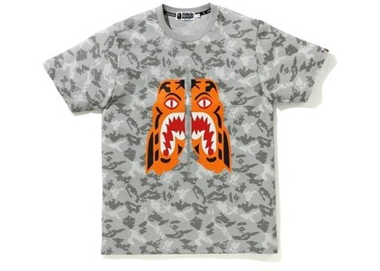 Bape Digital Camo Tiger Tee Gray (FW20)の写真
