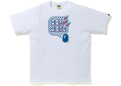 Bape Go Vote Tee #1 White (FW20)の写真