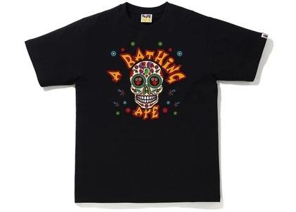 Bape Halloween Skull Tee Black (FW20)の写真