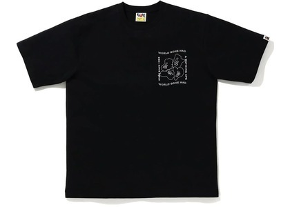 Bape Ink Print Relaxed #1 Tee Black (FW20)の写真
