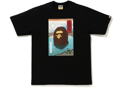 Bape Japan A Bathing Ape Tee Black (FW20)の写真