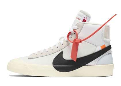Off-White × Nike The 10 Blazer Mid Whiteの写真