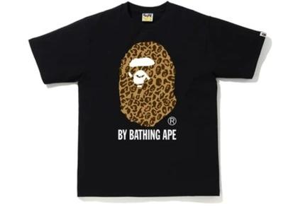 Bape Leopard By Bathing Ape Tee Black/Yellow (FW20)の写真