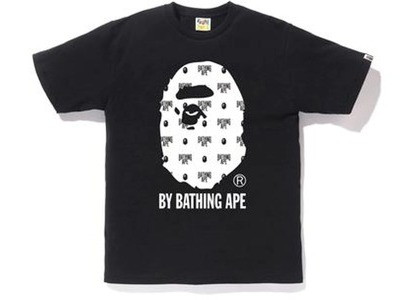 Bape Monogram by Bathing Tee Black/White (FW20)の写真