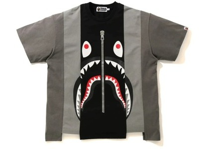 Bape Shark Relaxed Fit Tee Black/Grey (FW20)の写真