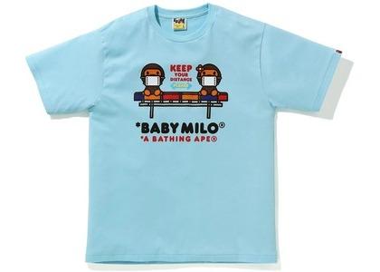 Bape Social Distance Baby Milo #2 Tee Sax (FW20)の写真