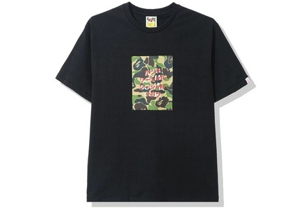 Bape x Anti Social Social Club ABC Camo Box Tee Black/Green (FW20)の写真