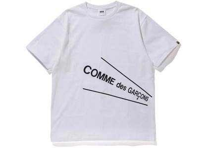 Bape x CDG Osaka Tee #4 White (FW20)の写真