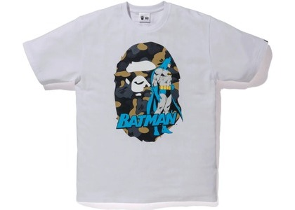 Bape x DC Ape Head Batman Tee White (FW20)の写真