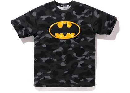 Bape x DC Batman Color Camo Tee (FW20) Black (FW20)の写真