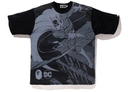 Bape x DC Batman Relaxed Tee Black (FW20)の写真