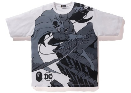 Bape x DC Batman Relaxed Tee White (FW20)の写真