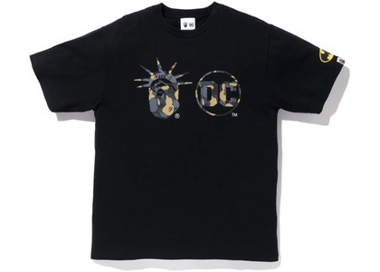 Bape x DC Madison Avenue Tee Black (FW20)の写真