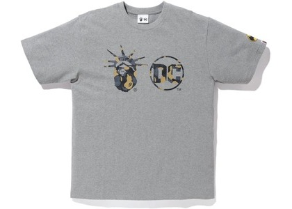 Bape x DC Madison Avenue Tee Gray (FW20)の写真