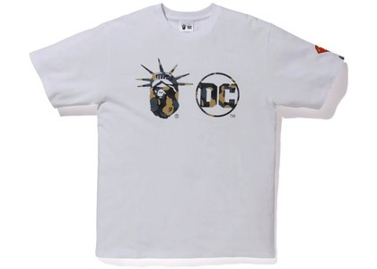 Bape x DC Madison Avenue Tee White (FW20)の写真