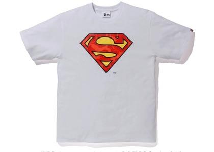Bape x DC Superman Tee White (FW20)の写真