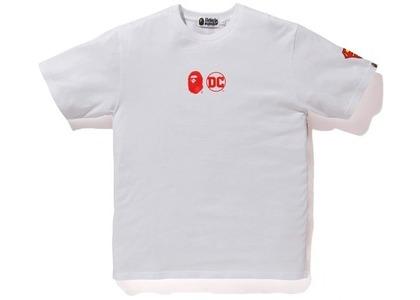 Bape x DC Tee White/Red (FW20)の写真