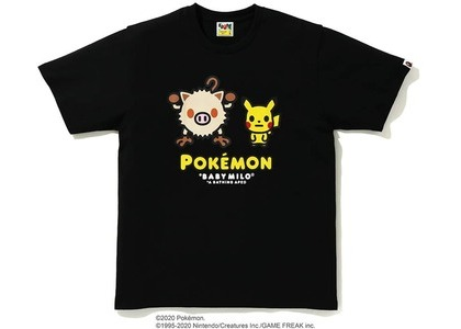Bape x Pokemon Mankey Tee #2 Black (FW20)の写真