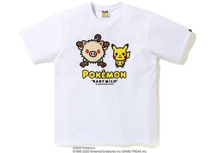 Bape x Pokemon Mankey Tee #2 White (FW20)の写真