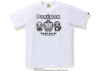 Bape x Pokemon Monotone Starters Tee #3 White (FW20)の写真