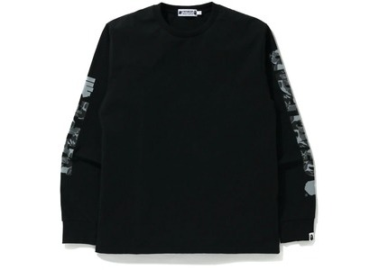 Bape x Undefeated 1 Long Sleeve Tee Black (FW20)の写真