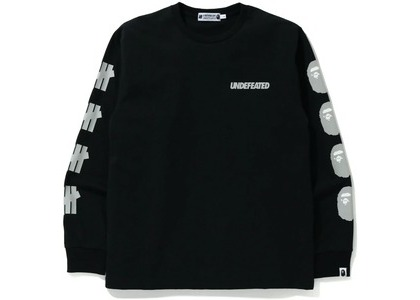 Bape x Undefeated 2 Long Sleeve Tee Black (FW20)の写真