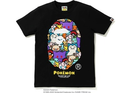 Bape x Pokemon Ladies Ape Head Tee #5 Black (FW20)の写真