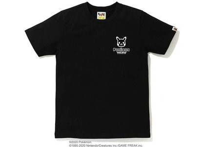 Bape x Pokemon Ladies Pikachu Ape Head Tee #3 Black (FW20)の写真