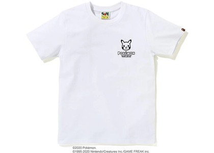 Bape x Pokemon Ladies Pikachu Ape Head Tee #3 White (FW20)の写真