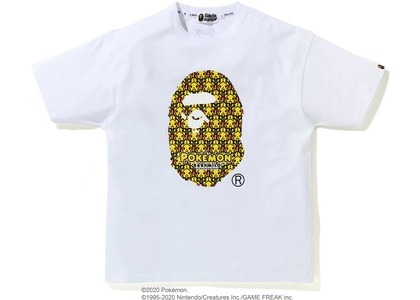 Bape x Pokemon Oversized Ladies Ape head Tee #1 White (FW20)の写真