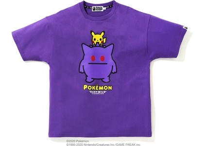 Bape x Pokemon Oversized Ladies Gengar Tee #2 Purple (FW20)の写真