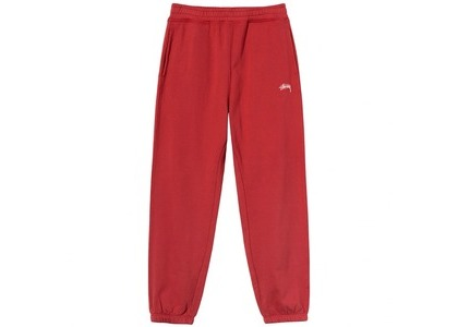 Stussy Overdyed Pant Red (SS21)の写真