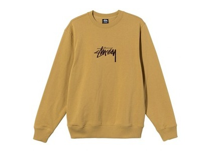 Stussy Stock Embroidered Crew Brown (SS21)の写真