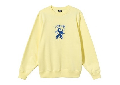 Stussy Regal Embroidered Crew Natural (SS21)の写真