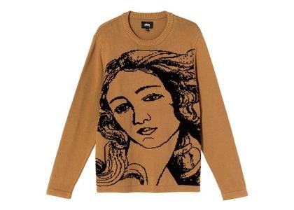 Stussy Venus Sweater Brown (SS21)の写真