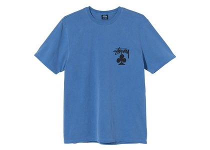 Stussy Club Pigment Dyed Tee Blue (SS21)の写真
