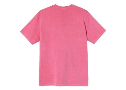 Stussy Rolling Tv Pigment Dyed Tee Pink (SS21)の写真