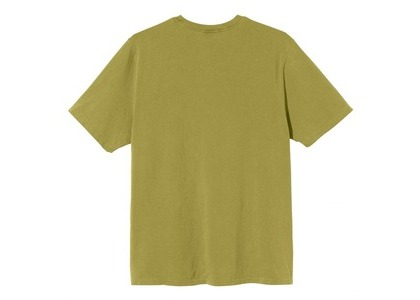 Stussy Spaceman Pigment Dyed Tee Olive (SS21)の写真