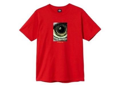 Stussy Acid Eye Tee Red (SS21)の写真