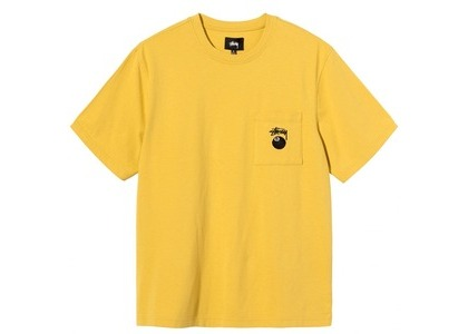 Stussy 8 Ball Pocket Crew Yellow (SS21)の写真