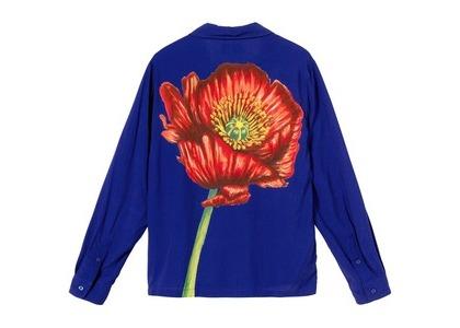 Stussy Big Poppy LS Shirt Floral (SS21)の写真