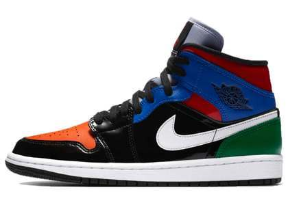 Nike Air Jordan 1 Mid Patent Blend Womensの写真