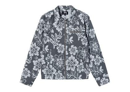 Stussy Hawaiian Zip Jacket Floral (SS21)の写真