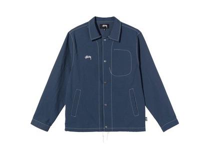 Stussy FolSom Coach Jacket Blue (SS21)の写真