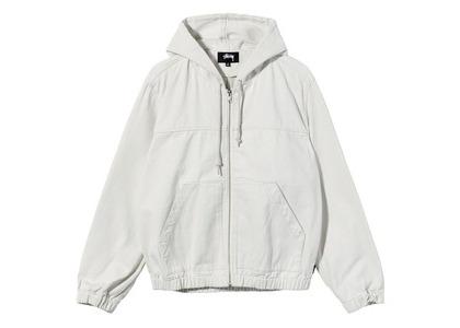 Stussy Solid Work Jacket White (SS21)の写真
